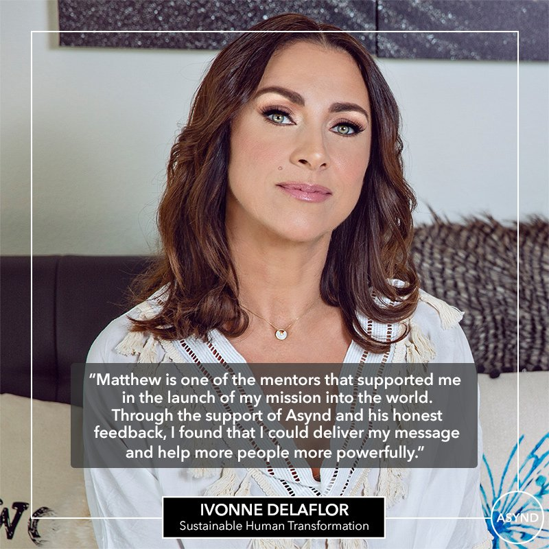 Ivonne Delaflor, CEO, Founder Delaflor Teachings International
